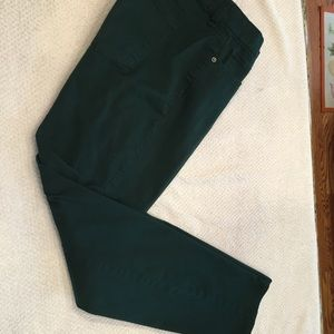 Size 14 A New Day green stretch straight leg pants